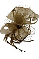 Finecy In - Ladies Wedding Races Headband Flower Plastic Fascinator