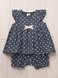 f0611df399e7e cote cotte(コトコット) ベビー ミルキー スーツ ( チュニック & ブルマ ) 赤ちゃん ベビー服 女の子