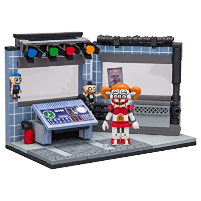 McFarlane Toys Five Nights at Freddy's Circus Control Construction Building Kit: Toys & Games