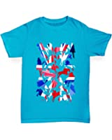 Twisted Envy GB Show Jumping Silhouette Girl's T-Shirt