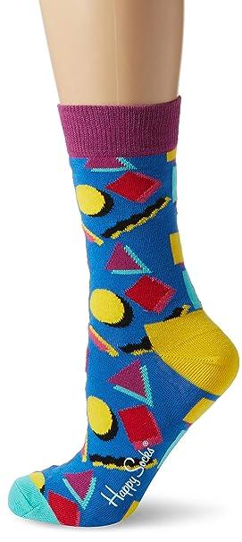 Happy Socks Nineties Sock, Calcetines para Mujer, Multicolor, 36-40: Amazon.es: Ropa y accesorios