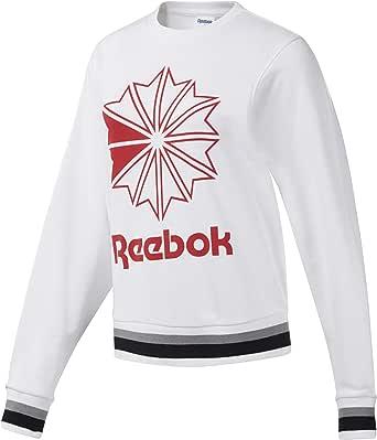 قميص رياضي برقبة مستديرة للسيدات من ريبوك كلاسيكس