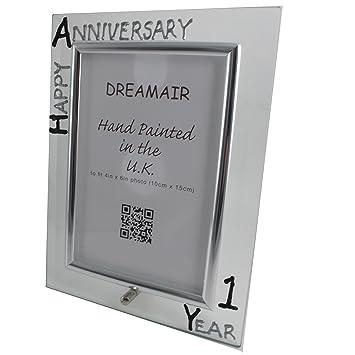 Amazoncom 1st Year One Year Anniversary Gift Photo Frame P