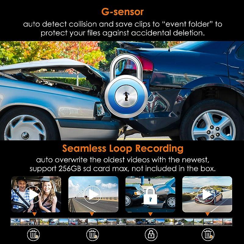 Vantrue N4 3 Channel Dash Cam 2
