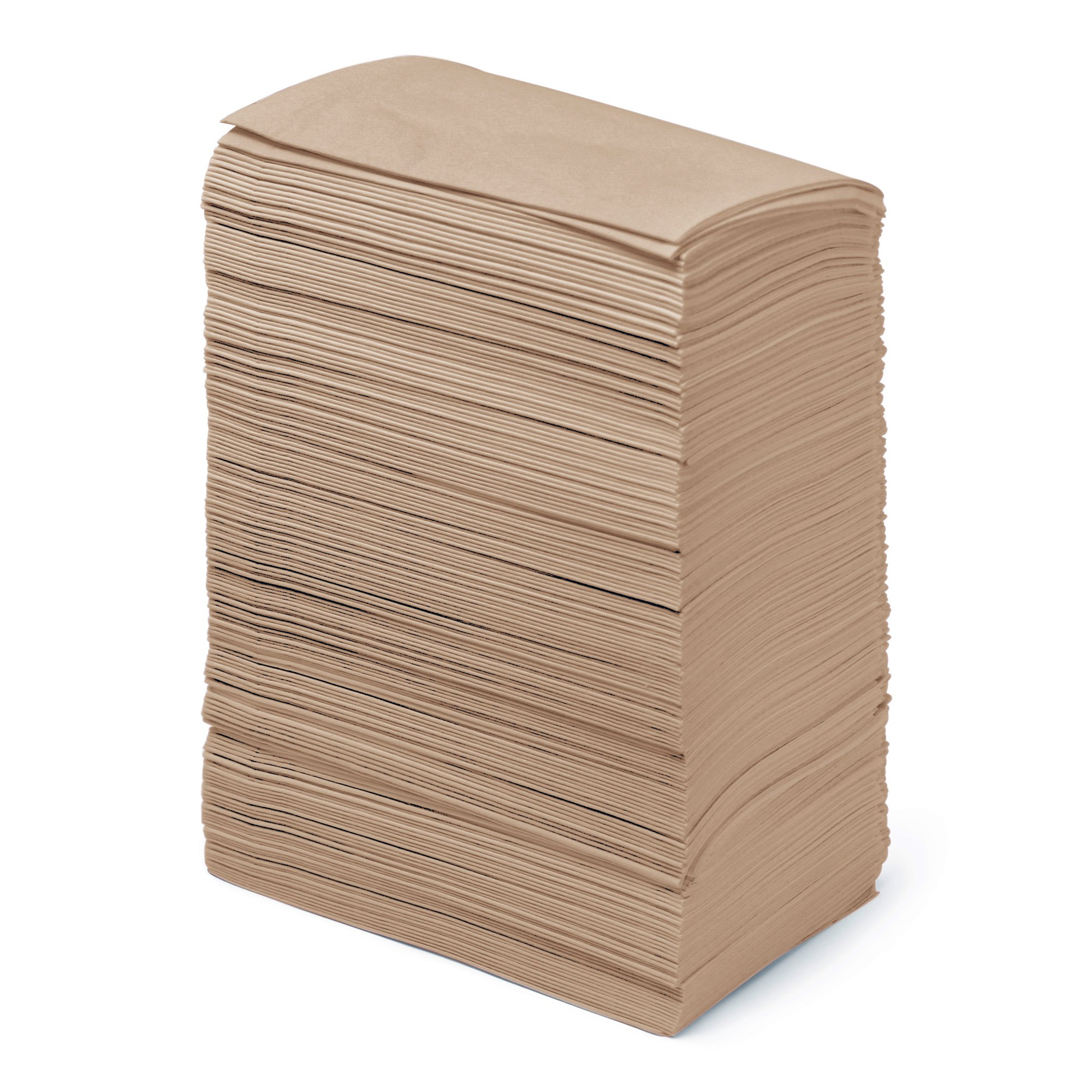 Dinner Napkins Paper Bulk 2-Ply - 3000 Count - 15'' x 17'' - Natural - Disposable - Embossed Pattern - Commercial or Business - Restaurants, Bars, Corporate, Catered Events, Party - Paterson Paper