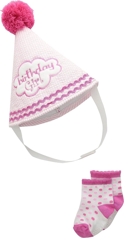 Little Me Baby Hat /& Booties Set
