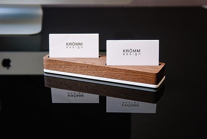 Amazoncom Wood Multiple Business Card Holder Wooden Multiple
