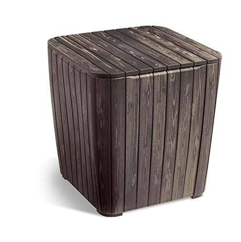 Crosley Furniture Gracie Retro 20-inch Metal Outdoor Side Table – Caribbean Blue
