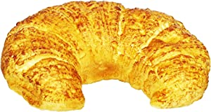 Large Croissant, Artificial Bread Fake Foods