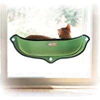 """K&H Pet Products EZ Mount Window Bed Kitty Sill Green 27"""" x 11"""""""