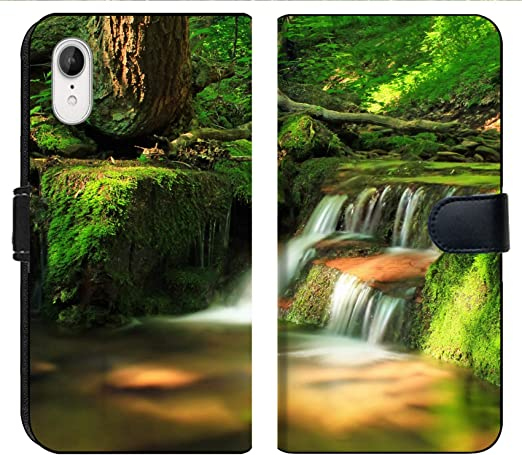 Amazon.com: Apple iPhone XR Flip Fabric Wallet Case Image