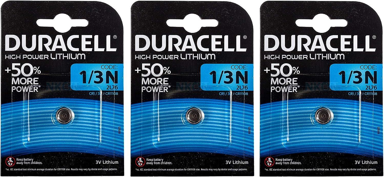 Duracell Dl1 3n Photo Lithium Batterie Cr1 3n 2l76 3 Stück Küche Haushalt