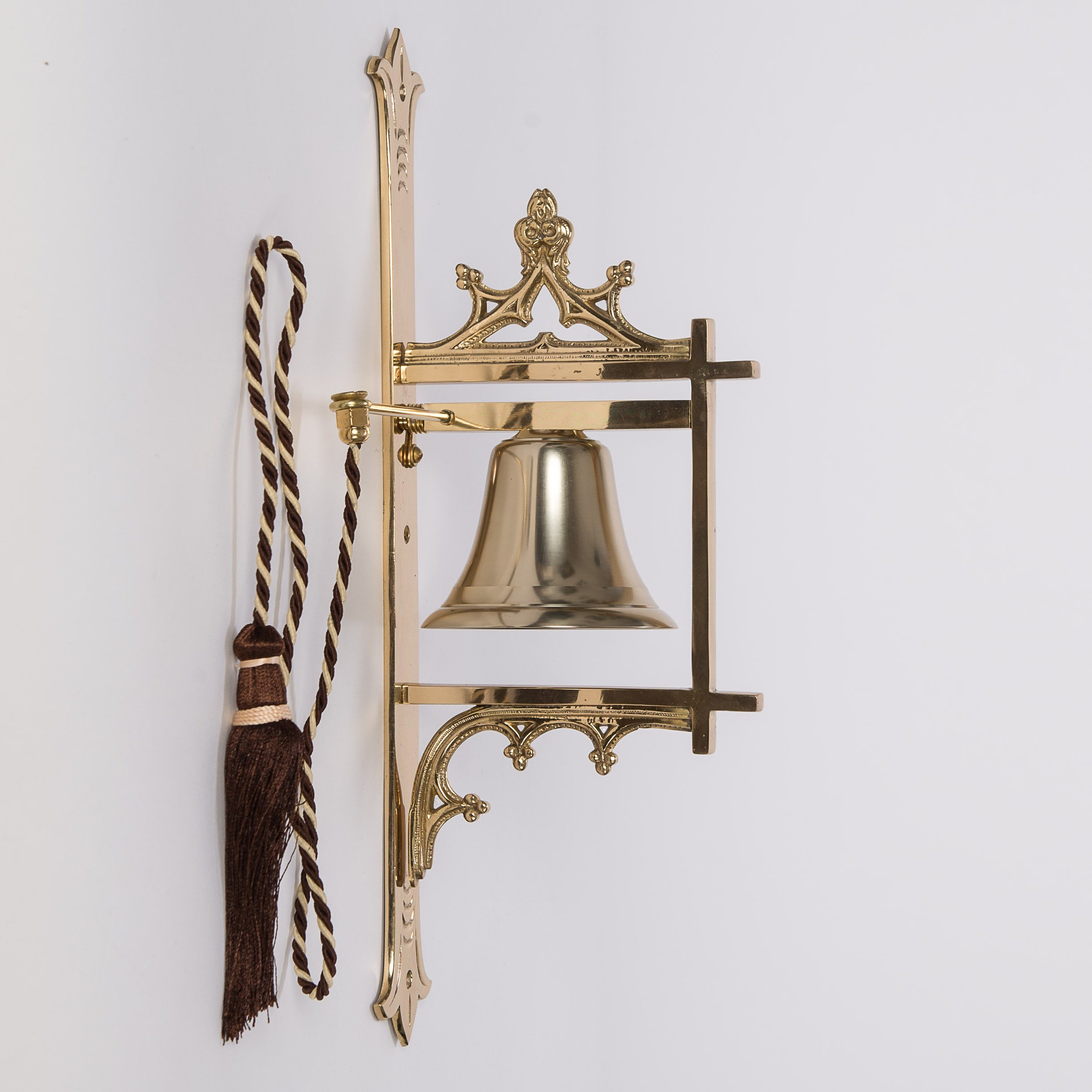 Traditional Wall Bell for Sanctuary - Sacristy Bell - Church Bell - Chalice (CCG-74) by Classical Church Goods