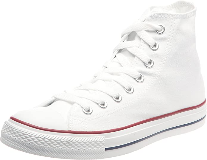 Converse Chucks (Chuck Taylor) All Star High Top Unisex Damen Herren Weiß
