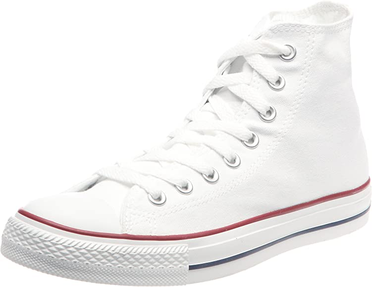 Converse Chuck Taylor Star Optical White Hi Top Skate Mens Womens Shoes Sizes