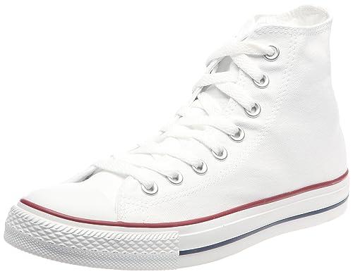 8e7e97e122cc Converse Unisex Chuck Taylor All Star HI Basketball Shoe (8 B(M) US Women /  6 D(M) US Men, Optical White)