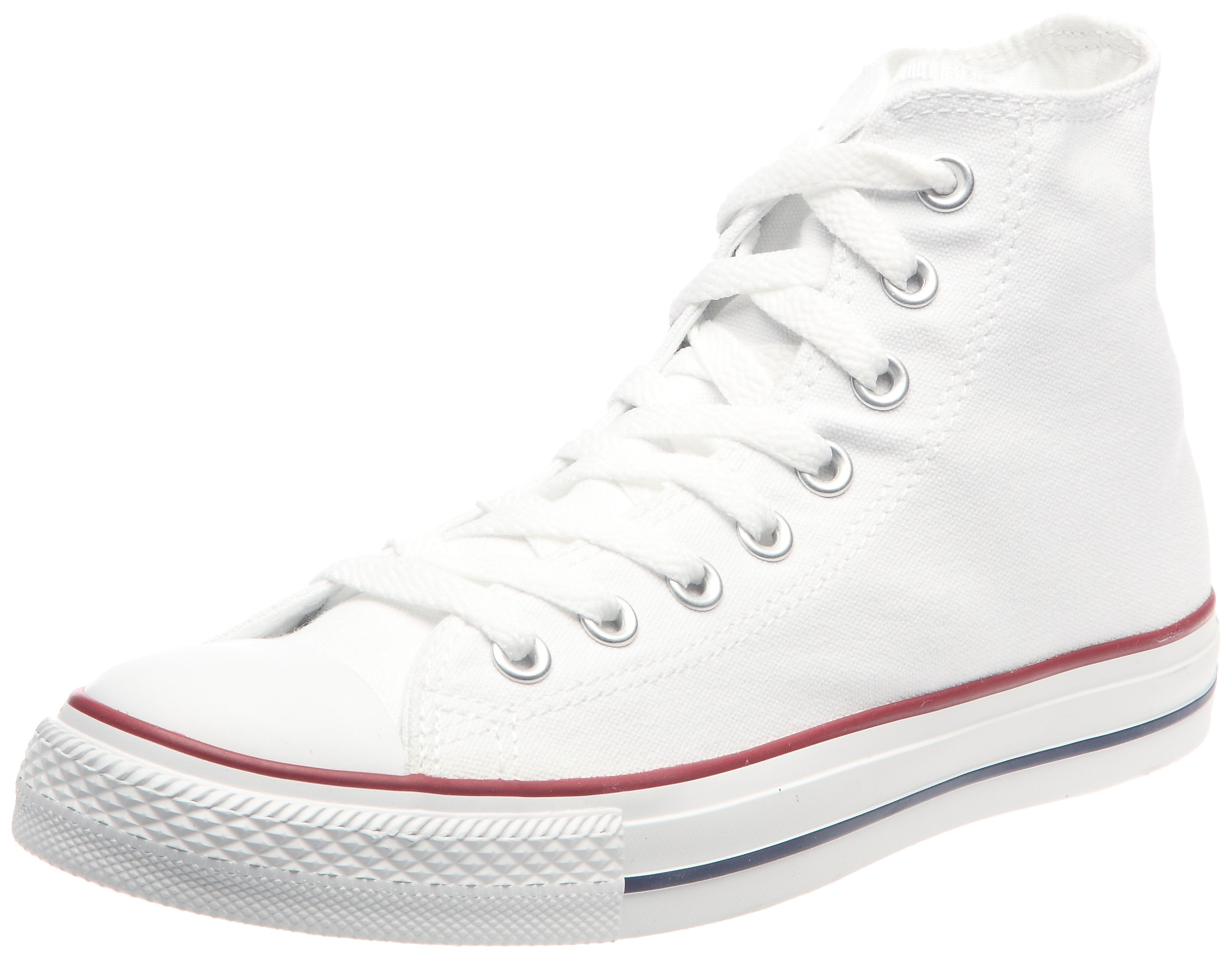 bb882e22ad32 Galleon - Converse Mens All Star Hi Top Chuck Taylor Chucks Sneaker Trainer  - Optical White - 11.5