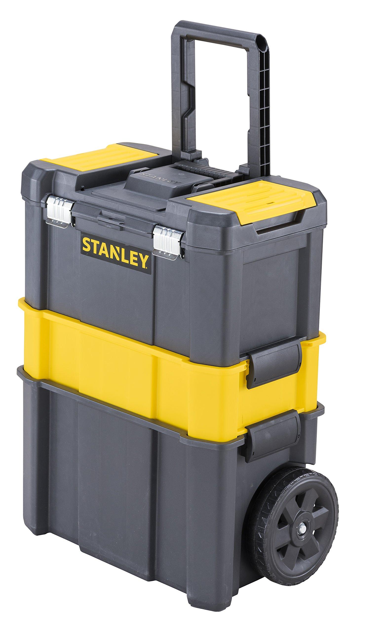 STANLEY STST1-80151 - Taller móvil para herramientas 3 en 1 con cierres metálicos,