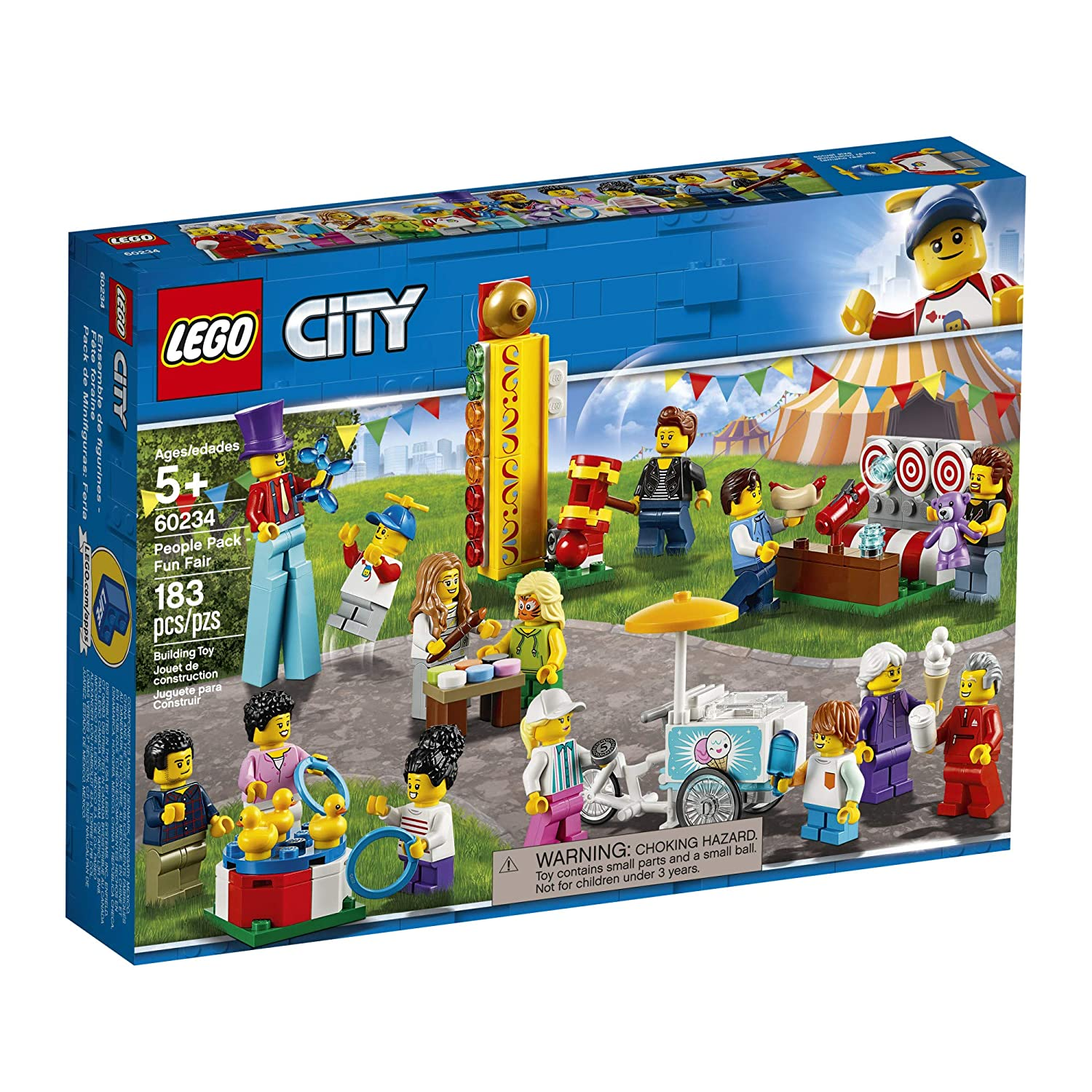 Amazon.com: LEGO City People Pack – Fun Fair 60234 Kit de ...