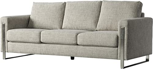 Acanva Luxury Contemporary Down-Filled Living Room Sofa Review