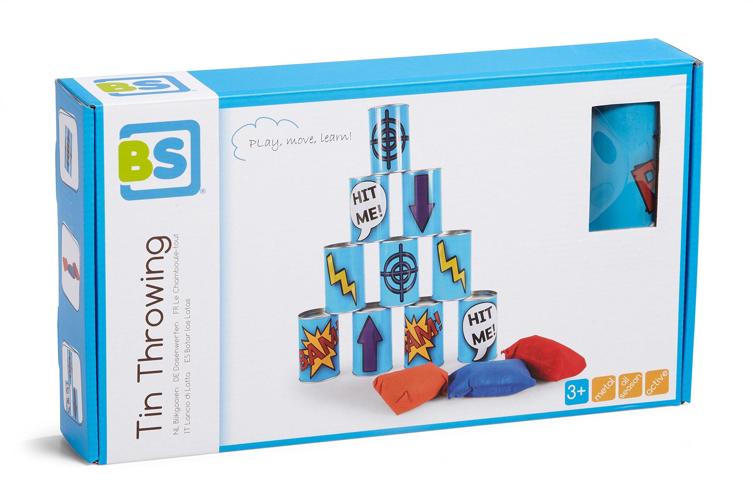 Robbie Toys BuitenSpeel Tin Throwing Game by Robbie Toys