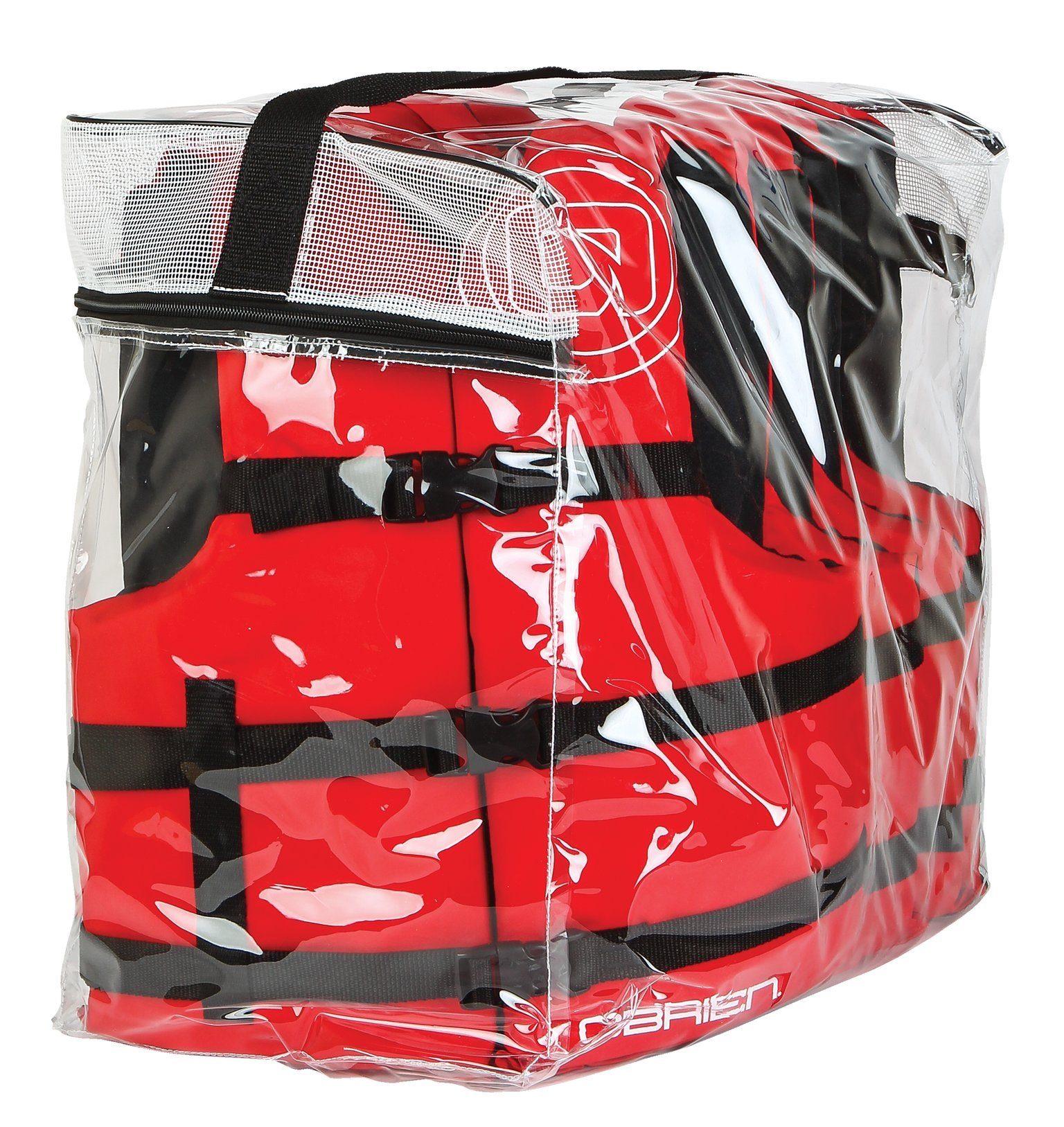 O'Brien Adult 4 Pack Life Vest, Red by O'Brien