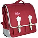 Kickers Cartable 20  L, Framboise/Gris