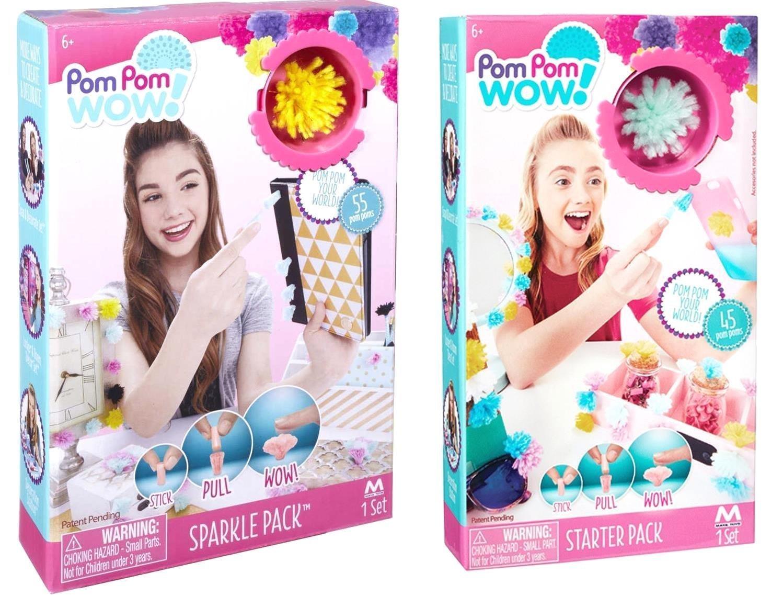 Pom Pom Wow Starter Pack Sparkle Pack Bundle