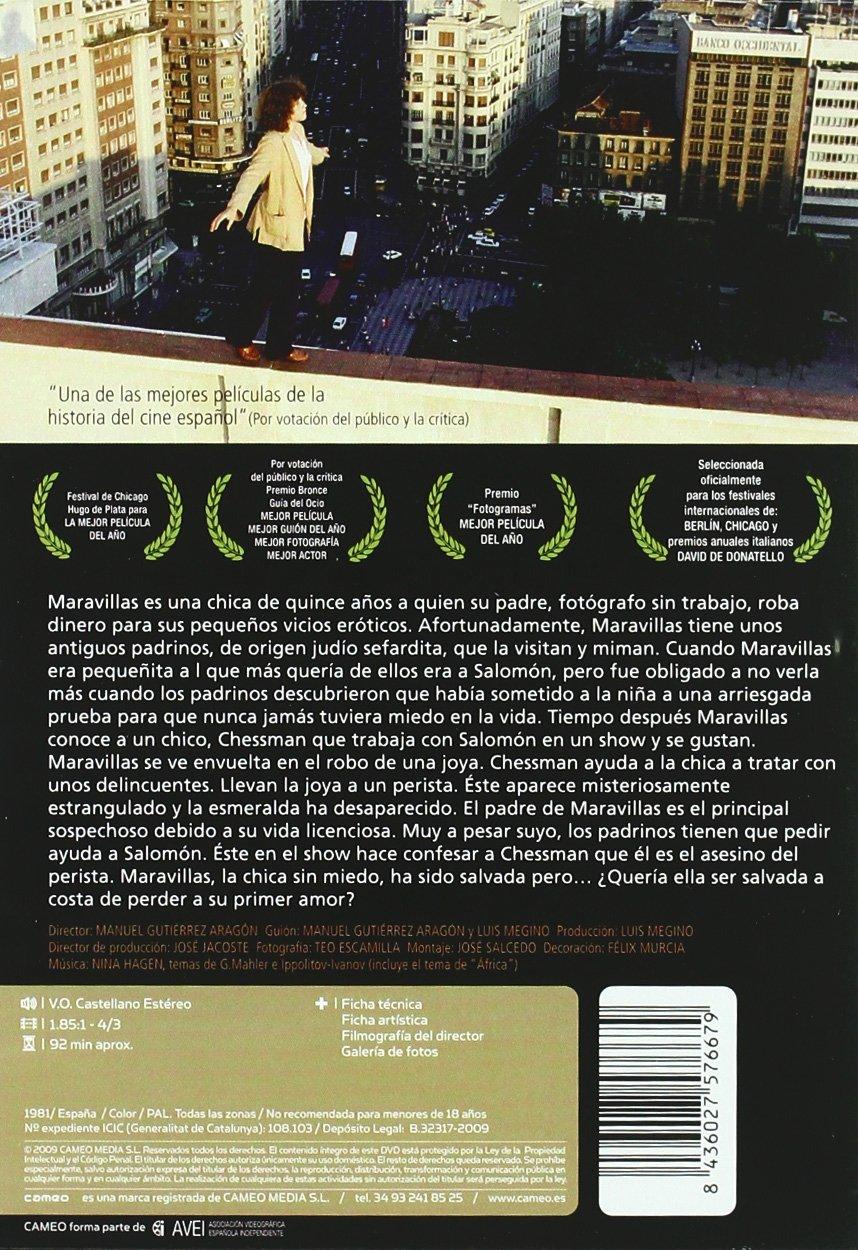 Amazon.com: Maravillas (1980) (Import Edition) (Non Us ...