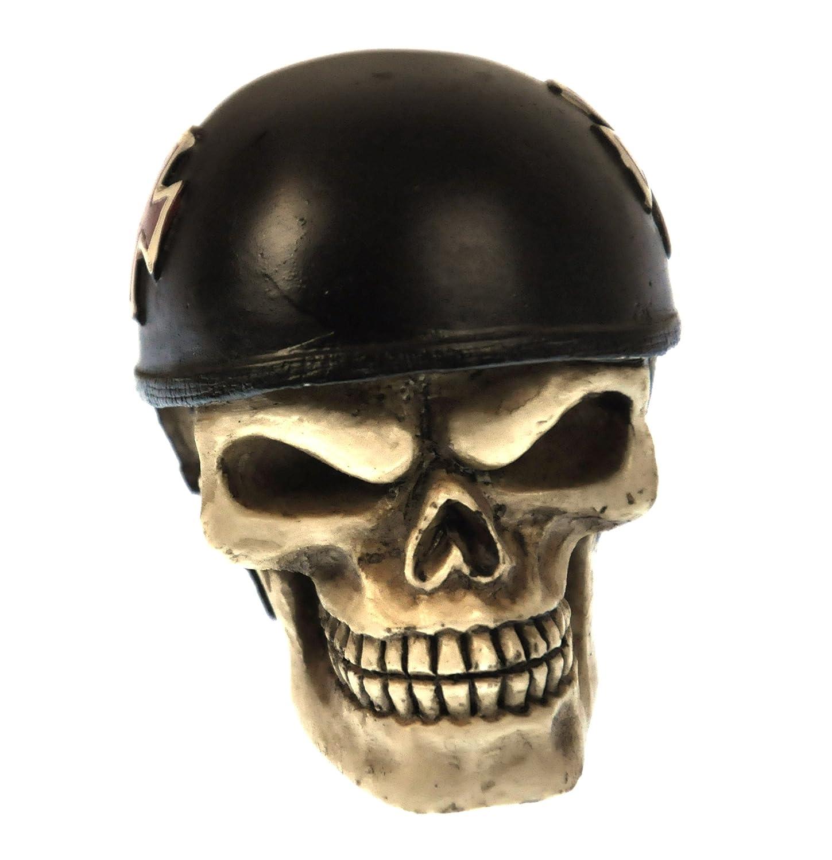 Ivory One Size Nemesis Now Skull Racer Gear Knob 8.5cm Resin