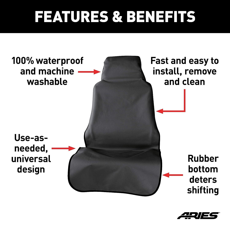 Phenomenal Aries 3142 09 Seat Defender 23 5 X 58 25 Inch Black Universal Bucket Car Cover Protector Spiritservingveterans Wood Chair Design Ideas Spiritservingveteransorg