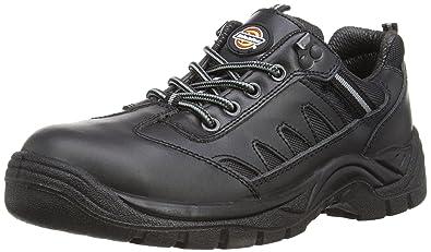 Auda Calzado de Protección de Piel Para Hombre, Color Negro, Talla 46