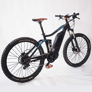 PROEBIKE Bicicleta eléctrica de 27.5 Pulgadas, Motor de Media ...