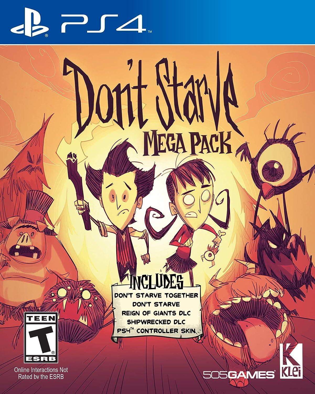 Amazon com: Don't Starve Mega Pack - PlayStation 4: 505