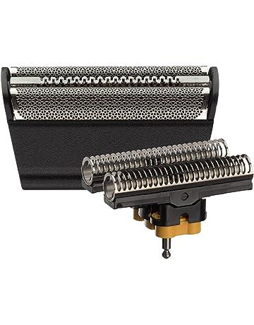 Braun 30B - Recambio para afeitadora eléctrica hombre lámina y bloque cortante, compatible con antigua
