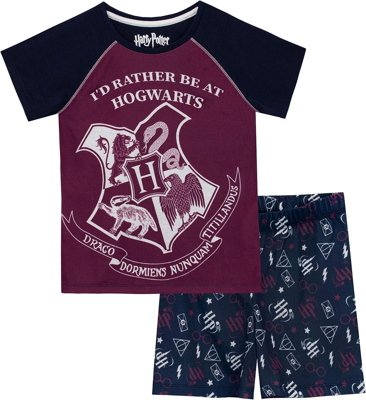 Fille Harry Potter Ensemble De Pyjamas Gryffindor Bien Ajust/é