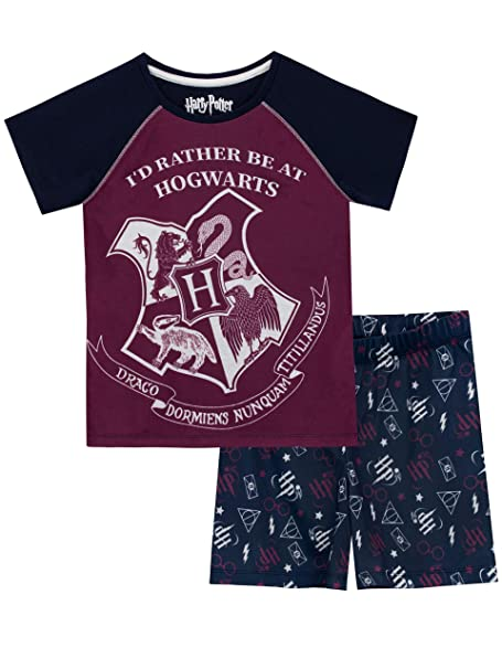 9494663ae HARRY POTTER Girls' Hogwarts Pajamas Size 5 Blue. Roll over image to zoom in