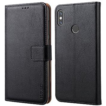 Peakally Funda Xiaomi Redmi Note 5, Carcasa Cuero PU Fundas para Xiaomi Redmi Note 5 / Xiaomi Redmi Note 5 Pro [Stand Function] [Cierre Magnético] ...