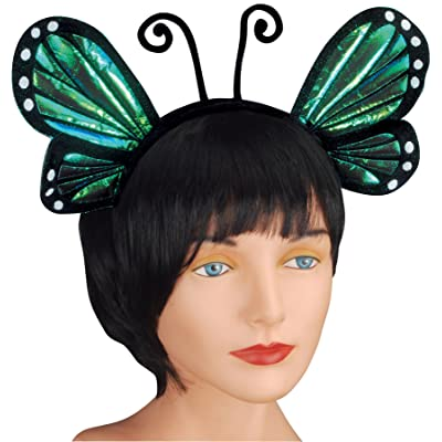 Loftus Halloween Cosplay Butterfly Antenna Costume Headband, Blue, One Size: Toys & Games