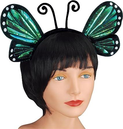 All Blue Butterfly Headpiece