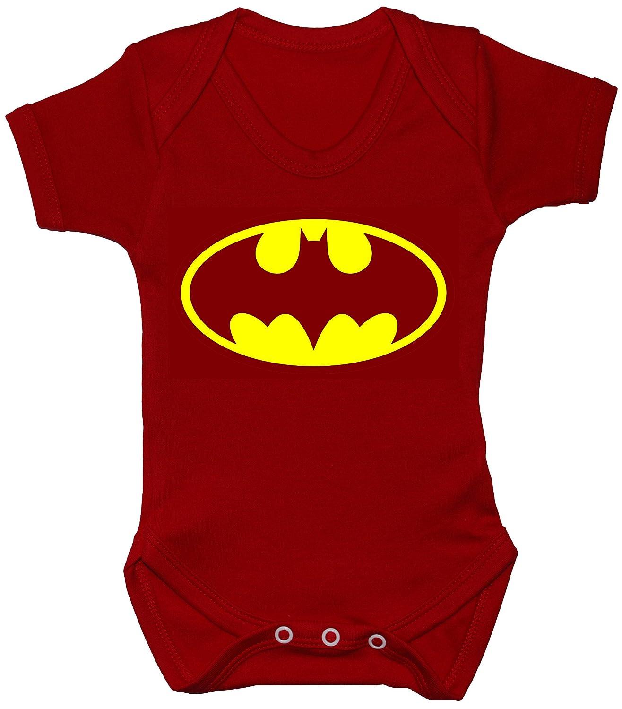 Acce Products Bat Baby Bodysuit/Romper/Vest/T-Shirt 0 to 24 Months Batman