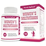 Premium Multivitamin for Women - Women's Multivitamin Supplement with Vitamin C, D3, E, B12, Folic Acid, Organic Fruit & Vege