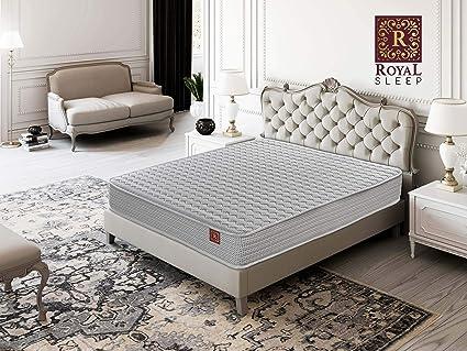 ROYAL SLEEP Colchón viscoelástico 90x190 con adaptación anatómica, colchón Reversible 19cm, antiácaros, Memory