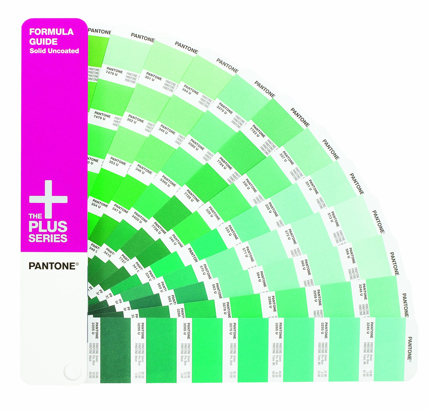 Pantone Plus Series FORMULA Guides Solid Coated & Uncoated (Two ...
