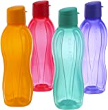 Tupperware FlipTop Water Bottle Set, 750ml, Set of 4