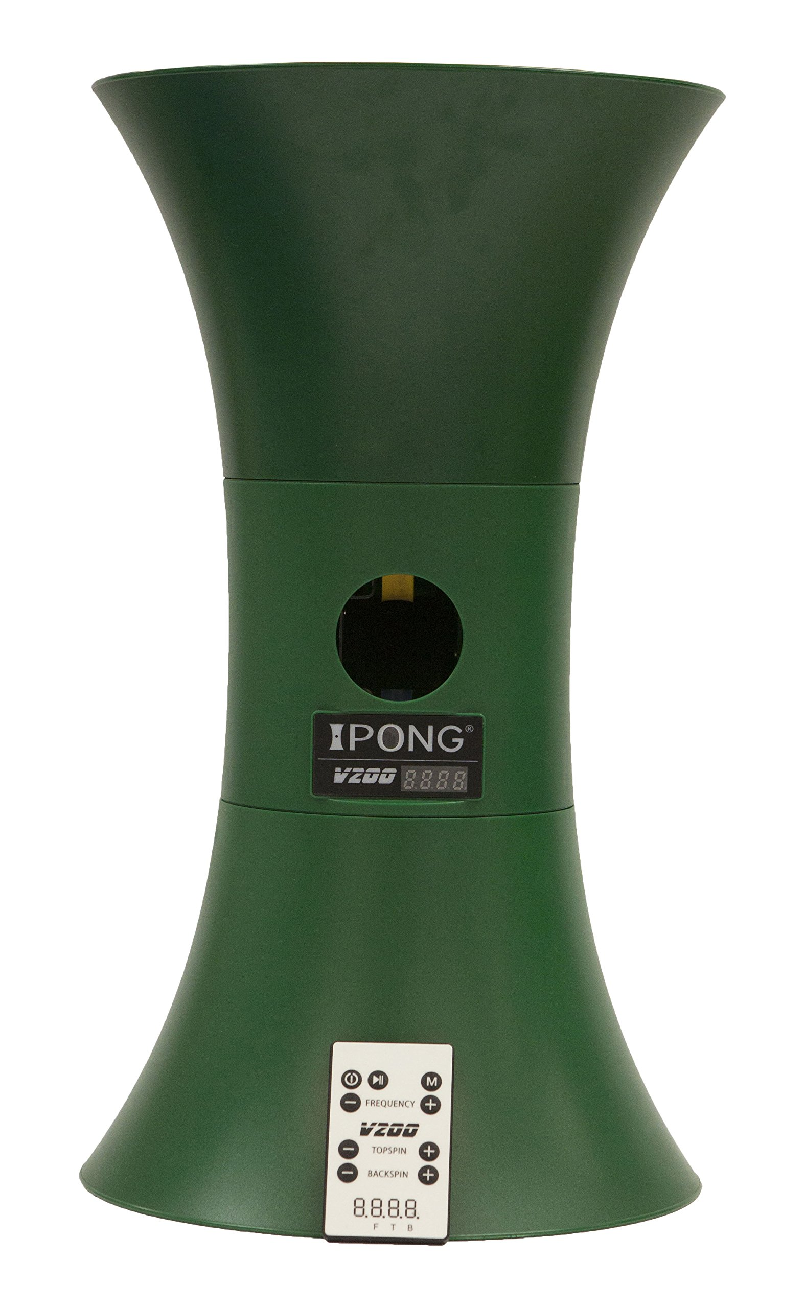 JOOLA iPong V200 Table Tennis Trainer Robot, Green