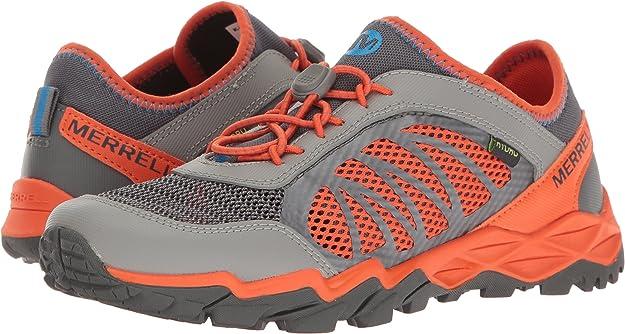 Merrell Ml-s Hydro Run 2.0, Zapatillas de Running para Asfalto para Niños, Multicolor (Grey/Orange), 35 EU: Amazon.es: Zapatos y complementos