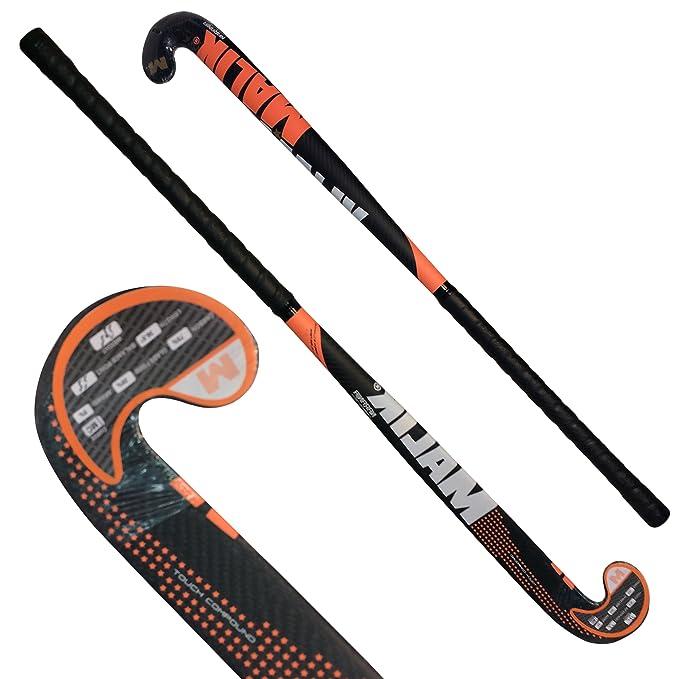 Amazon.com : Carbon Tech Composite Field Hockey Stick Naranja Outdoor Multi Curve - 75% Carbon - 5% Aramid - 20% Fiber Glass (36.5 Inches Length) : Sports & ...