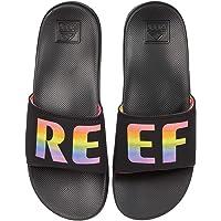 REEF Men's Flip Flop Slide Sandal, Black