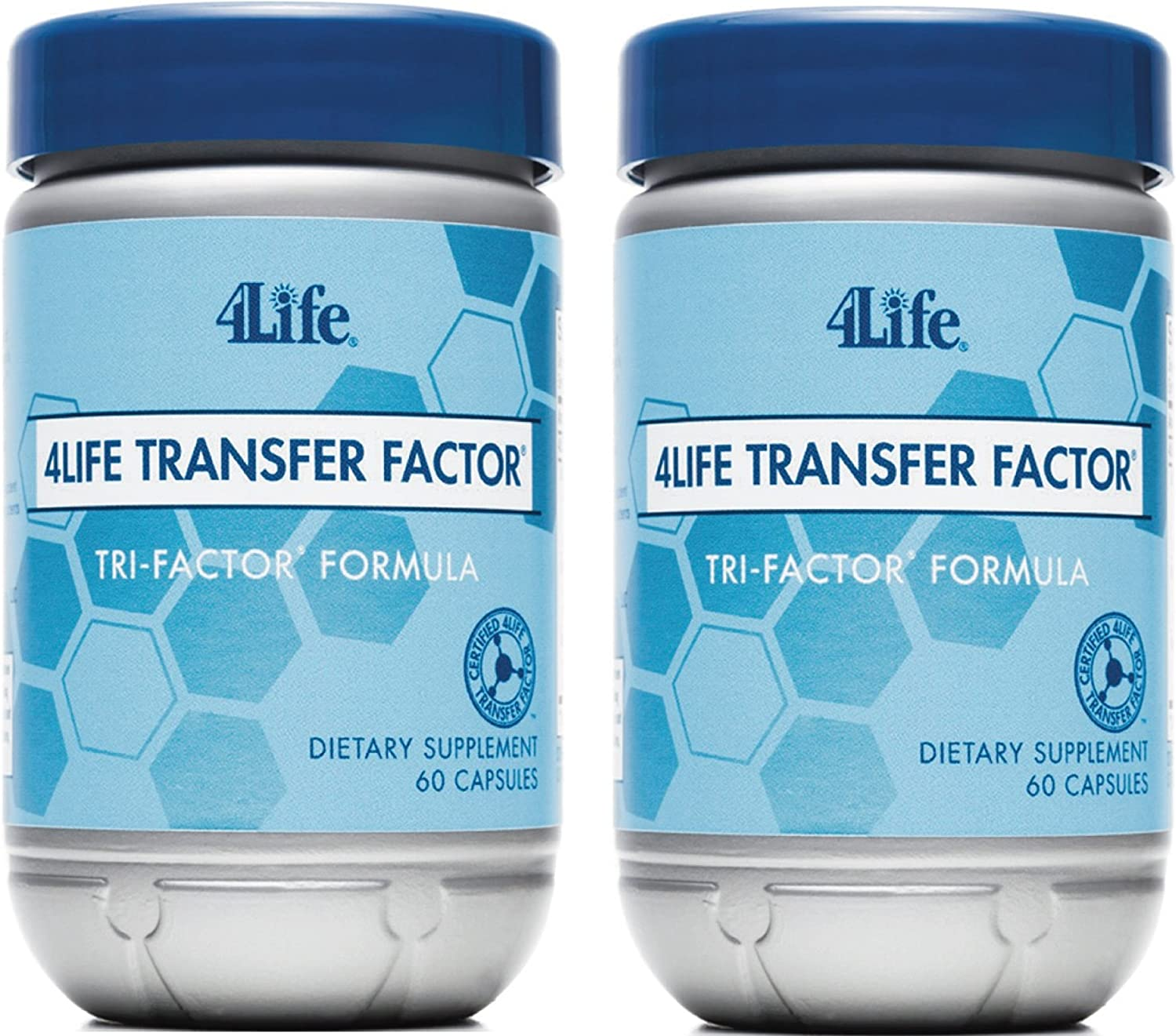 4Life Transfer Factor Tri Factor Formula supported Immune System Exclusive 60 capsules each pack of 2 by 4life Research